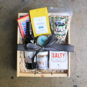 Large Gift Box With Wine