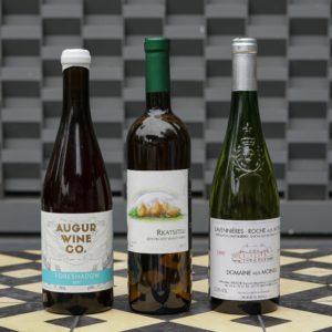 Bottles of White: A Little Funky